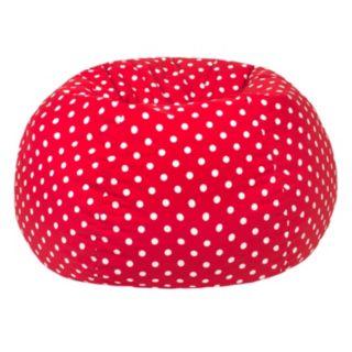 Extra Large Polka-Dot Bean Bag Chair
