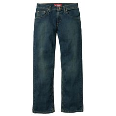 Boys 8-20 & Husky Lee Regular-Fit Straight-Leg Jeans