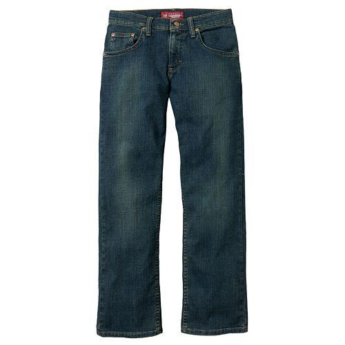 Boys 8-20 & Husky Lee Regular-Fit Straight-Leg Jeans