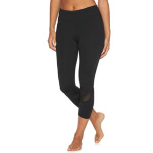 Women's Gaiam Om Mesh Yoga Capris