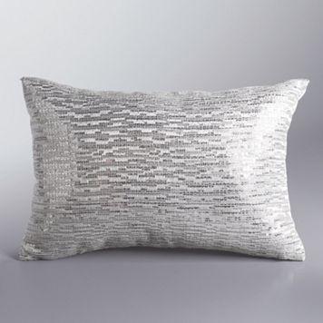 Simply Vera Vera Wang Sequin Throw Pillow
