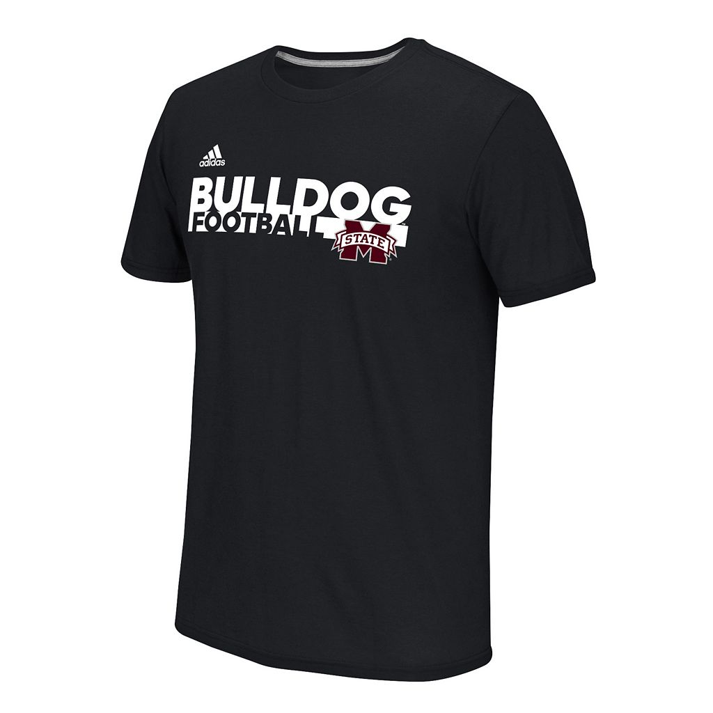 Men's adidas Mississippi State Bulldogs Sideline Grind Football Tee