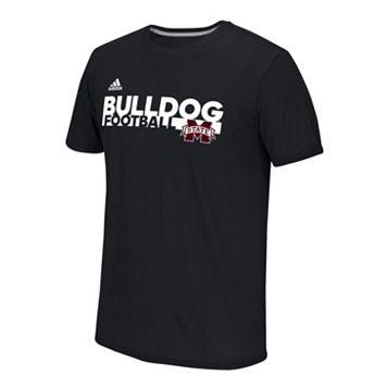 Men's adidas Mississippi State Bulldogs Sideline Grind Football Tee