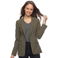 Juniors' Candie's® Open-Front Blazer