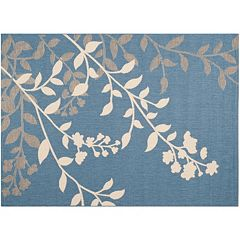 Safavieh Courtyard Mandarin Floral Indoor Outdoor Rug