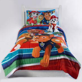 Paw Patrol Chase, Zuma & Marshall Twin / Full Reversible Comforter