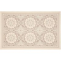 Safavieh Courtyard Pinwheel Framed Medallion Indoor Outdoor Rug