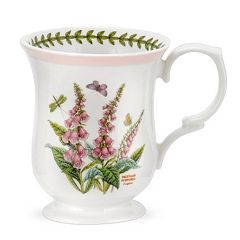 Portmeirion Botanic Garden Terrace 4 pc Bell-Shaped Mug Set