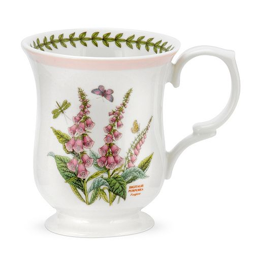 Portmeirion Botanic Garden Terrace 4-pc. Bell-Shaped Mug Set