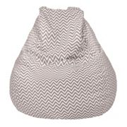 Large Teardrop Chevron Bean Bag Chair