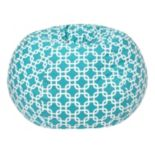 Medium Trellis Bean Bag Chair