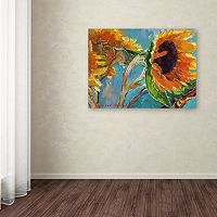 Trademark Fine Art Sunflower 11 Canvas Wall Art