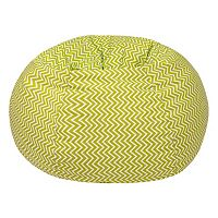 Extra Large Chevron Bean Bag Chair