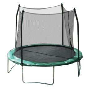 Youth Skywalker Trampolines 10-ft. Round Trampoline with Enclosure Net
