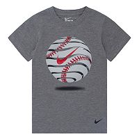 Boys 4-7 Nike Swoosh Baseball Tee