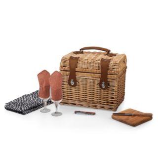 Picnic Time Adeline Collection Napa Picnic Basket