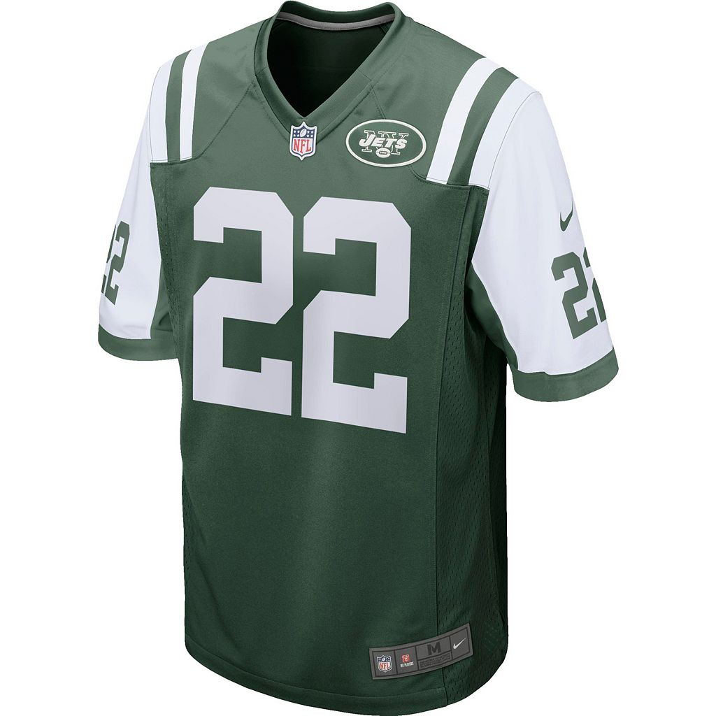 Men's Nike New York Jets Matt Forte Game NFL Replica Jersey