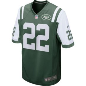 Men's Nike New York Jets Matt Forte Game NFL Replica Jersey