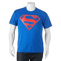 Big & Tall DC Comics Superman Shield Performance Tee