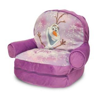 Disney's Frozen Bean Bag Chair & Sleeping Bag Set