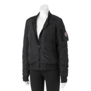 Juniors' Madden Girl Zip-Front Bomber Jacket