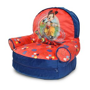 Disneys Mickey Mouse Bean Bag Chair Sleeping Set