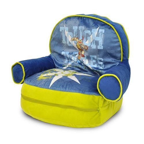 Teenage Mutant Ninja Turtles Bean Bag Chair Amp Sleeping Bag Set