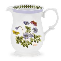 Portmeirion Botanic Garden Terrace Scalloped Edge Pitcher