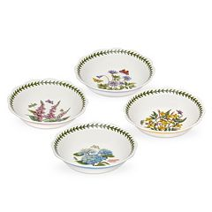 Portmeirion Botanic Garden Terrace 4 pc Scalloped Bowl Set