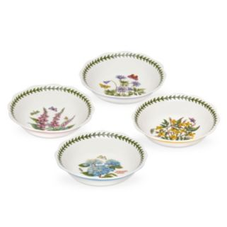 Portmeirion Botanic Garden Terrace 4-pc. Scalloped Bowl Set