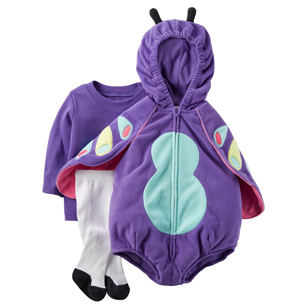 Baby Girl Carter's Butterfly Costume Set