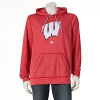 Men's adidas Wisconsin Badgers Preferred Patch Hoodie