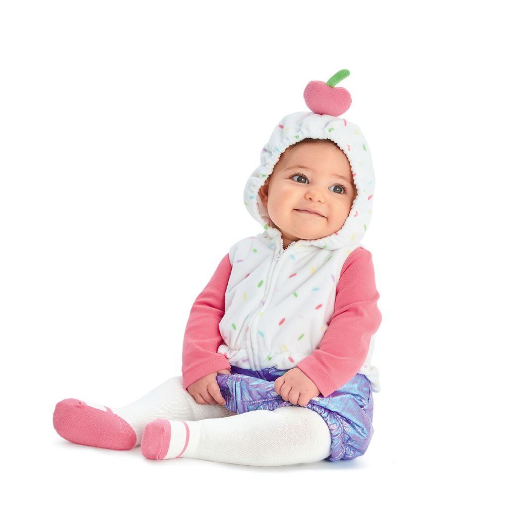 Baby Girl Carter's Cupcake Costume Set