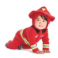 Baby Carter's Fleece Firefighter Costume