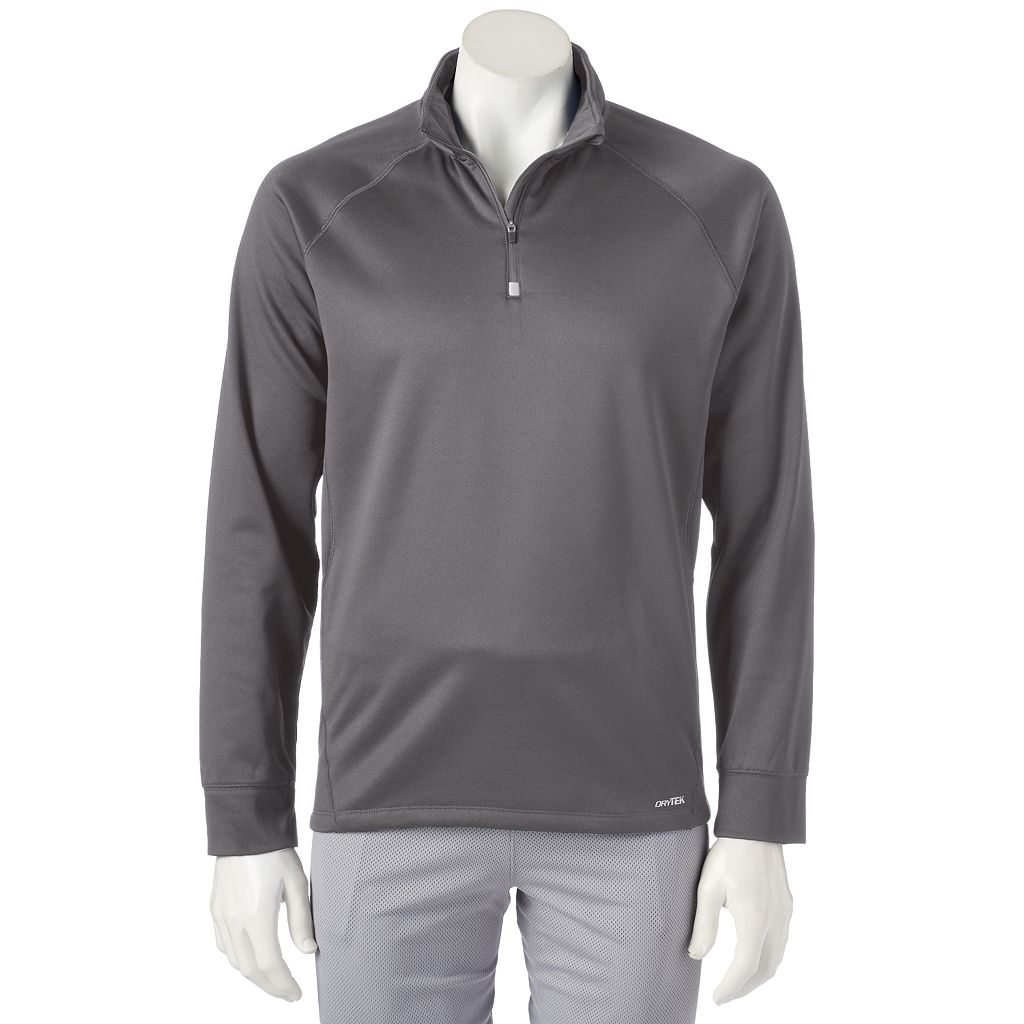 Men's Tek Gear® Performance Fleece Space-Dye Quarter Zip