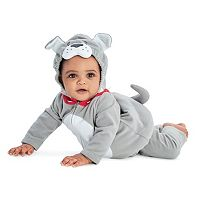 Baby Boy Carter's Fleece Bulldog Costume