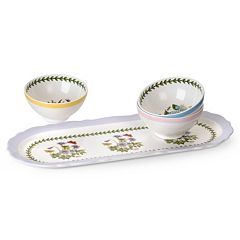 Portmeirion Botanic Garden Terrace 3-pc. Sandwich Tray Set