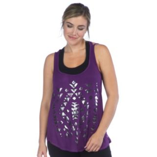 Women's PL Movement by Pink Lotus Printed Yoga Tank