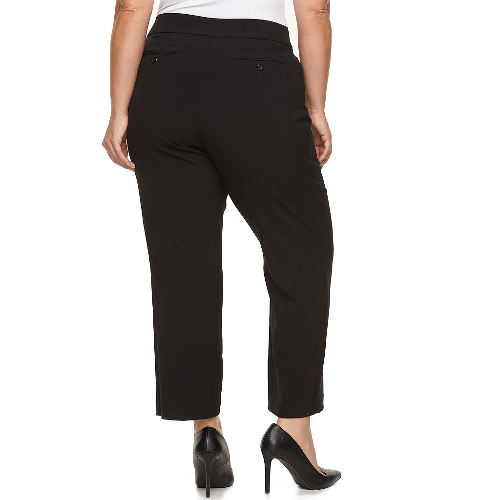Plus Size Croft & Barrow® Curvy Fit Dress Pants