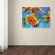 Trademark Fine Art Sunflower 5 Canvas Wall Art