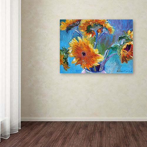Trademark Fine Art Sunflower 5 Canvas Wall Art