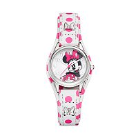 Disney's Minnie Mouse Women's Polka Dot Watch