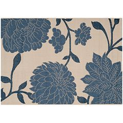 Safavieh Courtyard Bouquet Floral Indoor Outdoor Rug