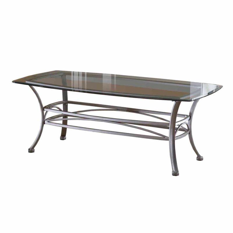 Hillsdale Furniture Abbington Rectangle Coffee Table, Grey