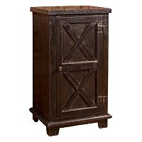 Hillsdale Furniture Bellefonte X-Design Cabinet