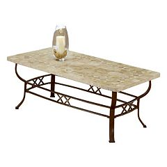 Hillsdale Furniture Brookside Fossil Coffee Table