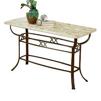 Hillsdale Furniture Brookside Fossil Sofa Table