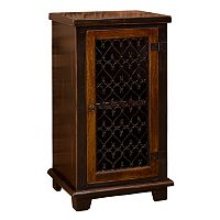 Hillsdale Furniture Gibbins Metal Door Cabinet