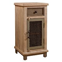 Hillsdale Furniture LaRose Chicken Wire Cabinet