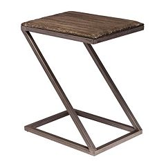 Hillsdale Furniture Lorient Z-shape Accent End Table